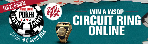 WSOPC Online Ring Event