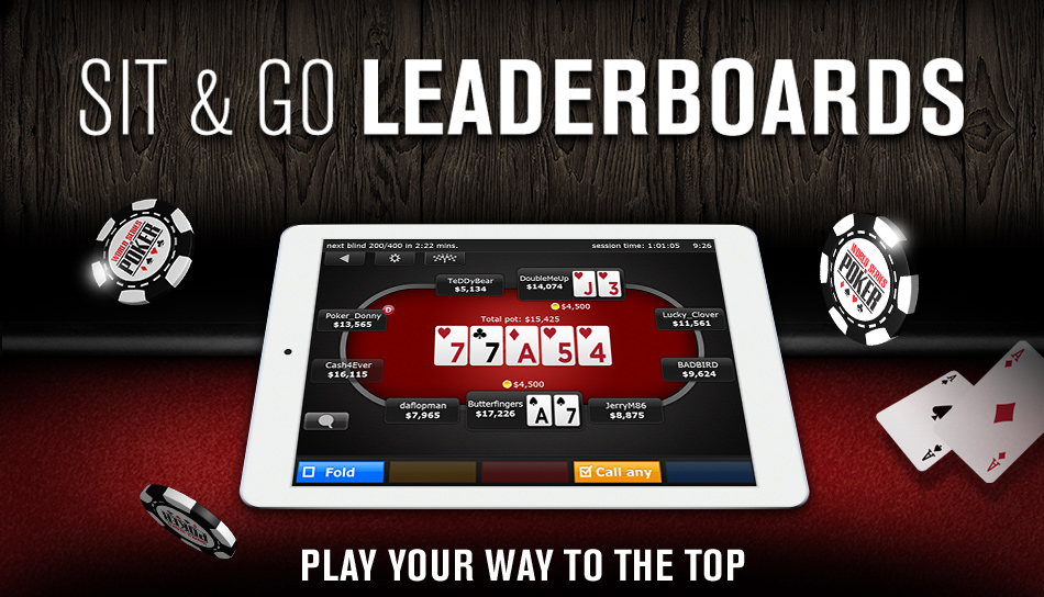 Sit and Go Leaderboards