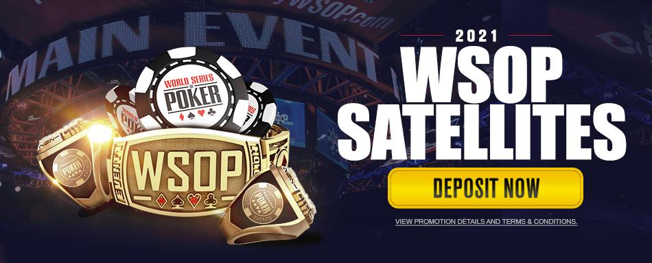 $10,000 Main Event + Online Bracelet Event Seats
