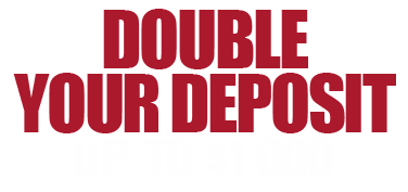 100% Deposit Match up to $1000