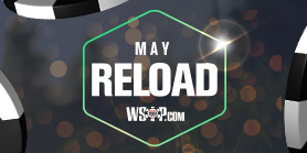 May Reload: 100% up to $500