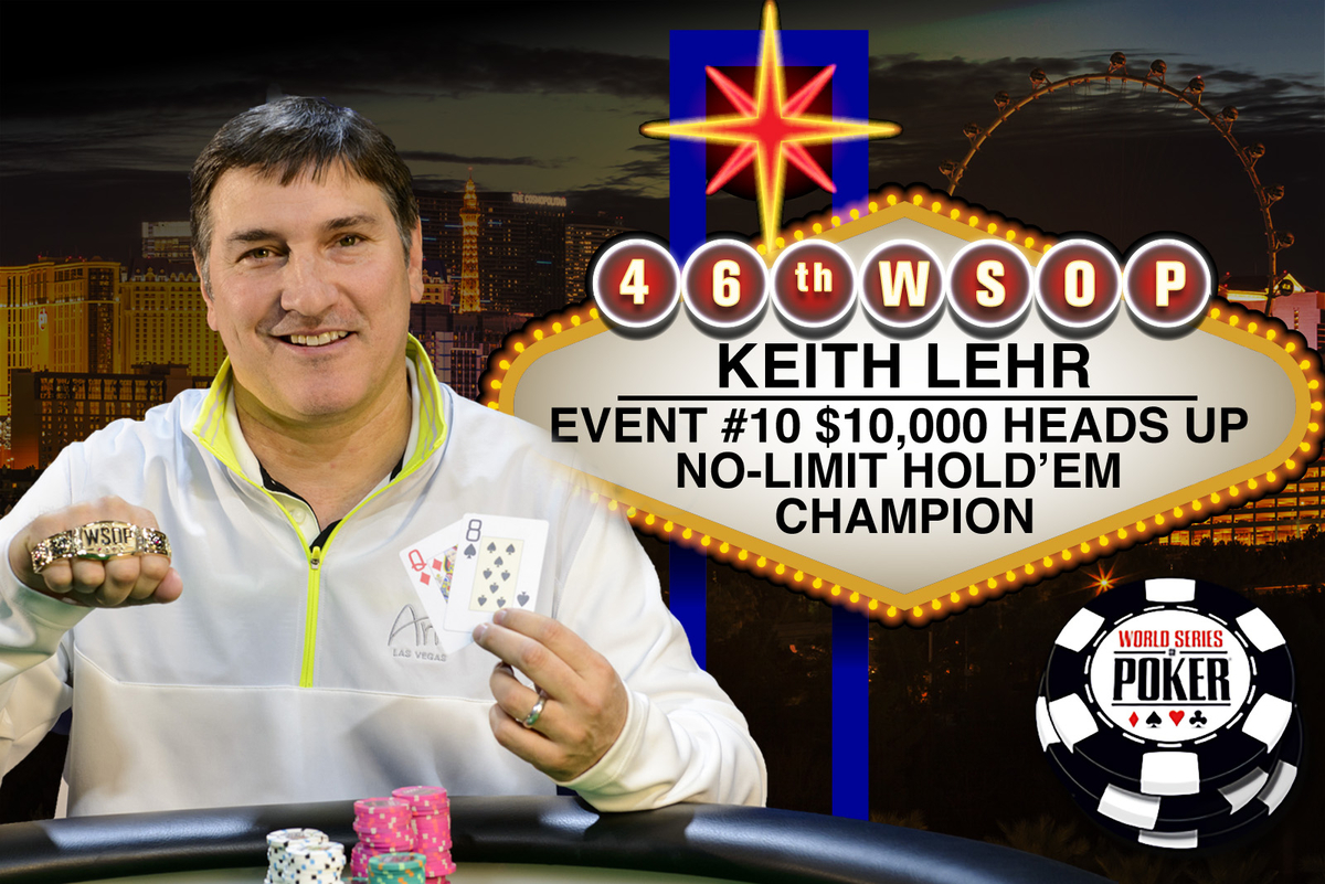 Keith Lehr wins 2015 WSOP $10k Heads Up Championship