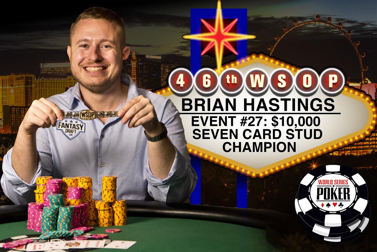 Poker championship winner