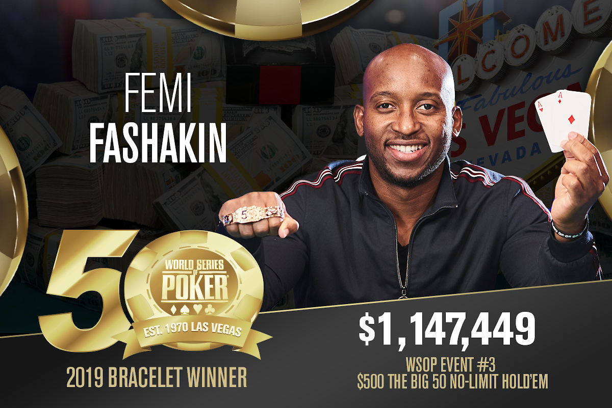 Tournament Results | Official World Series of Poker Online