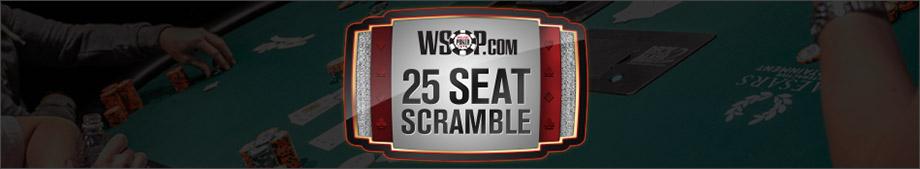 25 seat scramble