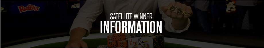 2016 Satellite Winner Information