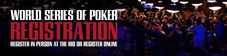 WSOP Summer Series Registration