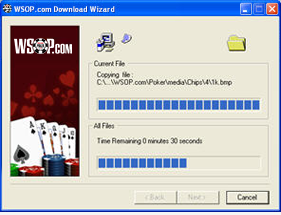 Download wizard for WSOP.com